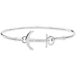 Bracelet Jonc Anchor Cuff Argenté - Paul Hewitt - Modalova