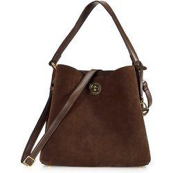 Le sac cuir velours souple - L. Credi - Modalova