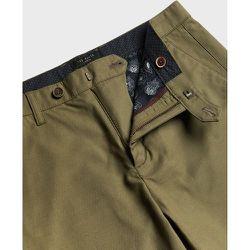 Slim Fit Textured Trouser - Ted Baker - Modalova