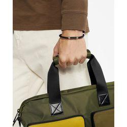 Carbon Fibre Insert Leather Wrap Bracelet - Ted Baker - Modalova