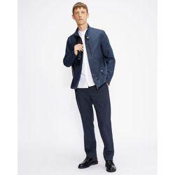 Long Sleeved Grandad Oxford Shirt - Ted Baker - Modalova