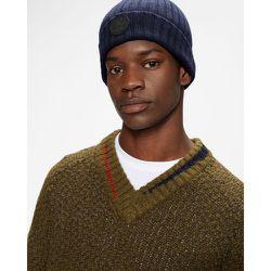 Long Sleeved Textured V-neck - Ted Baker - Modalova