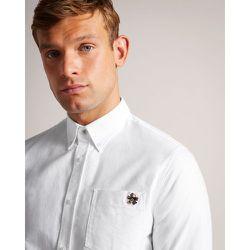 Long Sleeved Oxford Shirt - Ted Baker - Modalova