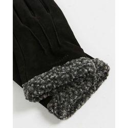Nubuck Fleece Lined Gloves - Ted Baker - Modalova