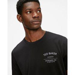 Tee-shirt Griffé Avec Logo - Ted Baker - Modalova