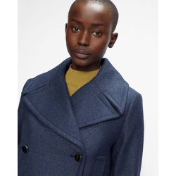 Long Pea Coat With Oversized Collar - Ted Baker - Modalova