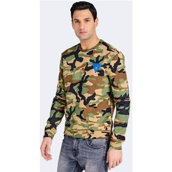 Sweat Imprimé Camouflage Logo - Guess - Modalova