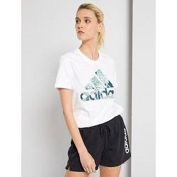 T-shirt 'adidas' motif exotique - Adidas - Modalova