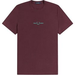 Authentic Small Embroidered Logo T-shirt , , Taille: L - Fred Perry - Modalova