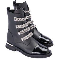 Ankle boot with applications , , Taille: 37 - Baldinini - Modalova