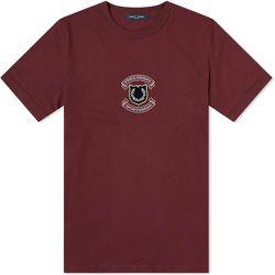 Bouclier brodé authentique T-shirt , , Taille: L - Fred Perry - Modalova