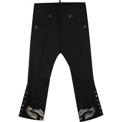 Embroidered Pant , , Taille: 48 IT - Dsquared2 - Modalova