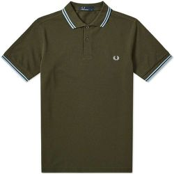 Slim Fit Polo Tipped double , , Taille: S - Fred Perry - Modalova