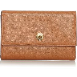Pre-owned Leather Wallet , , Taille: Onesize - Bvlgari Vintage - Modalova