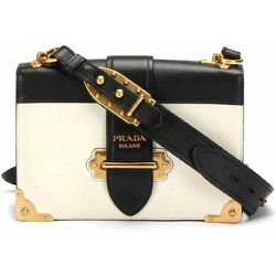 Grand sac à bandoulière Cahier en cuir d'occasion , , Taille: Onesize - Prada Vintage - Modalova