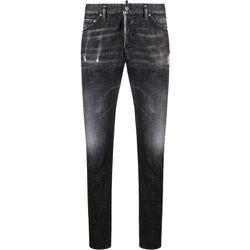 Distressed-effect slim jeans , , Taille: 48 IT - Dsquared2 - Modalova