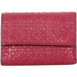 Anagram Leather Small Wallet , , Taille: Onesize - Loewe Pre-owned - Modalova