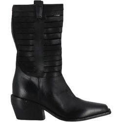 Santiags en cuir ajouré - E2882 shoes , , Taille: 37 1/2 - Elena Iachi - Modalova
