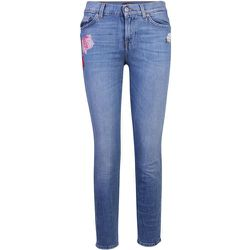 Embroidered Jean , , Taille: XS - 7 For All Mankind - Modalova