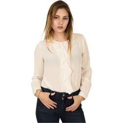 Camicia girocollo in seta -42 , , Taille: 46 IT - Seventy - Modalova