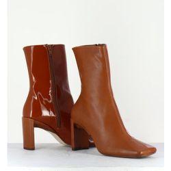 Boots cuir lisse Miista - Miista - Modalova
