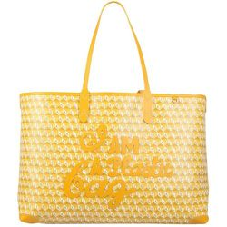 Tote BAG With I AM A Plastic BAG Pattern , , Taille: Onesize - Anya Hindmarch - Modalova