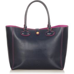 Leo Leather Tote Bag , , Taille: Onesize - Loewe Pre-owned - Modalova