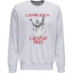 Sweatshirt with Grand Prix Print , , Taille: M - Casablanca - Modalova