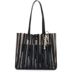 N008 Shopping Plisse BAG , , Taille: Onesize - CafèNoir - Modalova