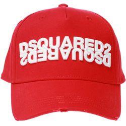 Casquette de baseball patché , , Taille: Onesize - Dsquared2 - Modalova