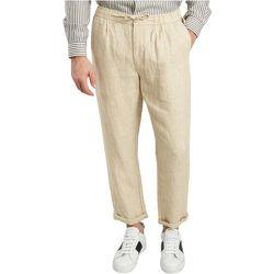 Birch Linen Trousers , , Taille: S - Knowledge Cotton Apparel - Modalova