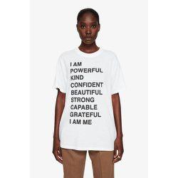 T-shirt Lili Tee Empowerment - Anine Bing - Modalova