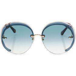 Sunglasses with logo , , Taille: Onesize - Chloé - Modalova