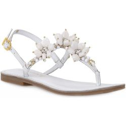 W001 Infradito Pelle Sandals , , Taille: 37 - CafèNoir - Modalova