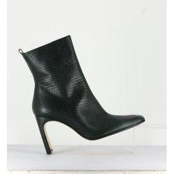 Marcelle Bottle Leather Boots - Miista - Modalova