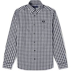 Bouton authentique Chemise vichy , , Taille: XL - Fred Perry - Modalova