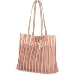 M001 Shopping Plisse BAG , , Taille: Onesize - CafèNoir - Modalova