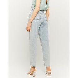 Jean Slouchy Taille Haute Bleu - Tw - Modalova
