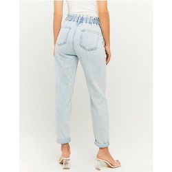 Jean Paperbag Taille Haute Bleu - Tw - Modalova