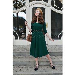 Ruby Swing Dress Années 50 en Sapin - vintage chic for topvintage - Modalova