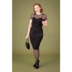 Norah Pencil Dress Années 50 en - vintage chic for topvintage - Modalova