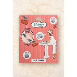 Cherry Print Hair Turban en Rose - The Vintage Cosmetic Company - Modalova