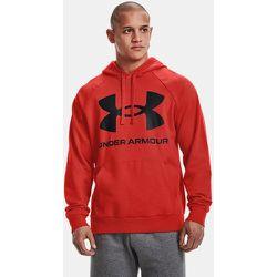 Sweat à capuche UA Rival Fleece Big Logo - Under Armour - Modalova
