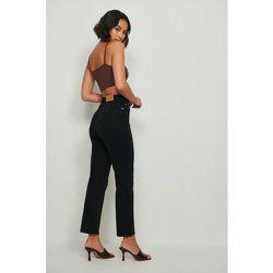 Jean droit taille haute - Black - Buonalima x NA-KD - Modalova