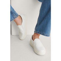 Baskets À Enfiler - White - NA-KD Shoes - Modalova