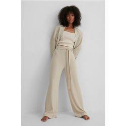 MANGO Pantalon Taille Haute - Beige - Mango - Modalova