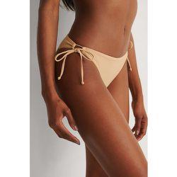 Recyclé Bas De Bikini - Beige - Marije Zuurveld x NA-KD - Modalova