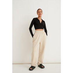 Pantalon De Survêtement - Beige - Marije Zuurveld x NA-KD - Modalova