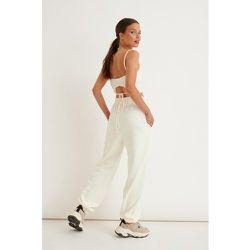 Pantalon De Survêtement - Offwhite - Marije Zuurveld x NA-KD - Modalova