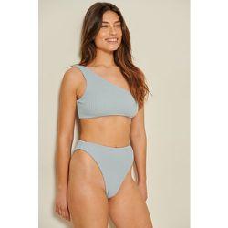 Recyclée Culotte De Bikini Taille Haute - Blue - Mathilde Gøhler x NA-KD - Modalova